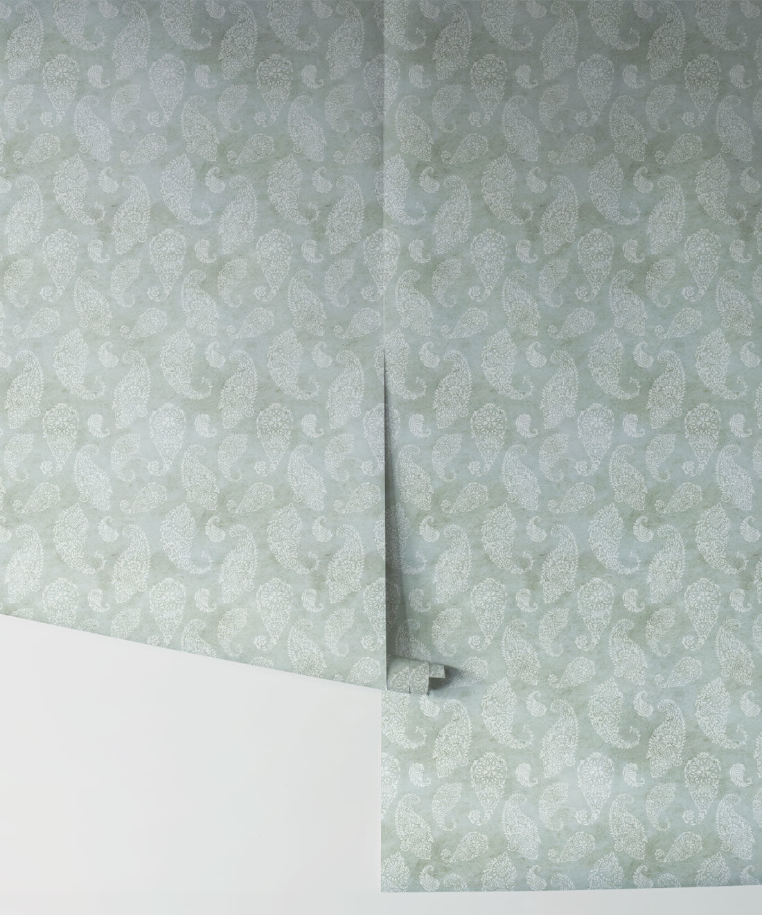 Paisley Wallpaper Seaspray