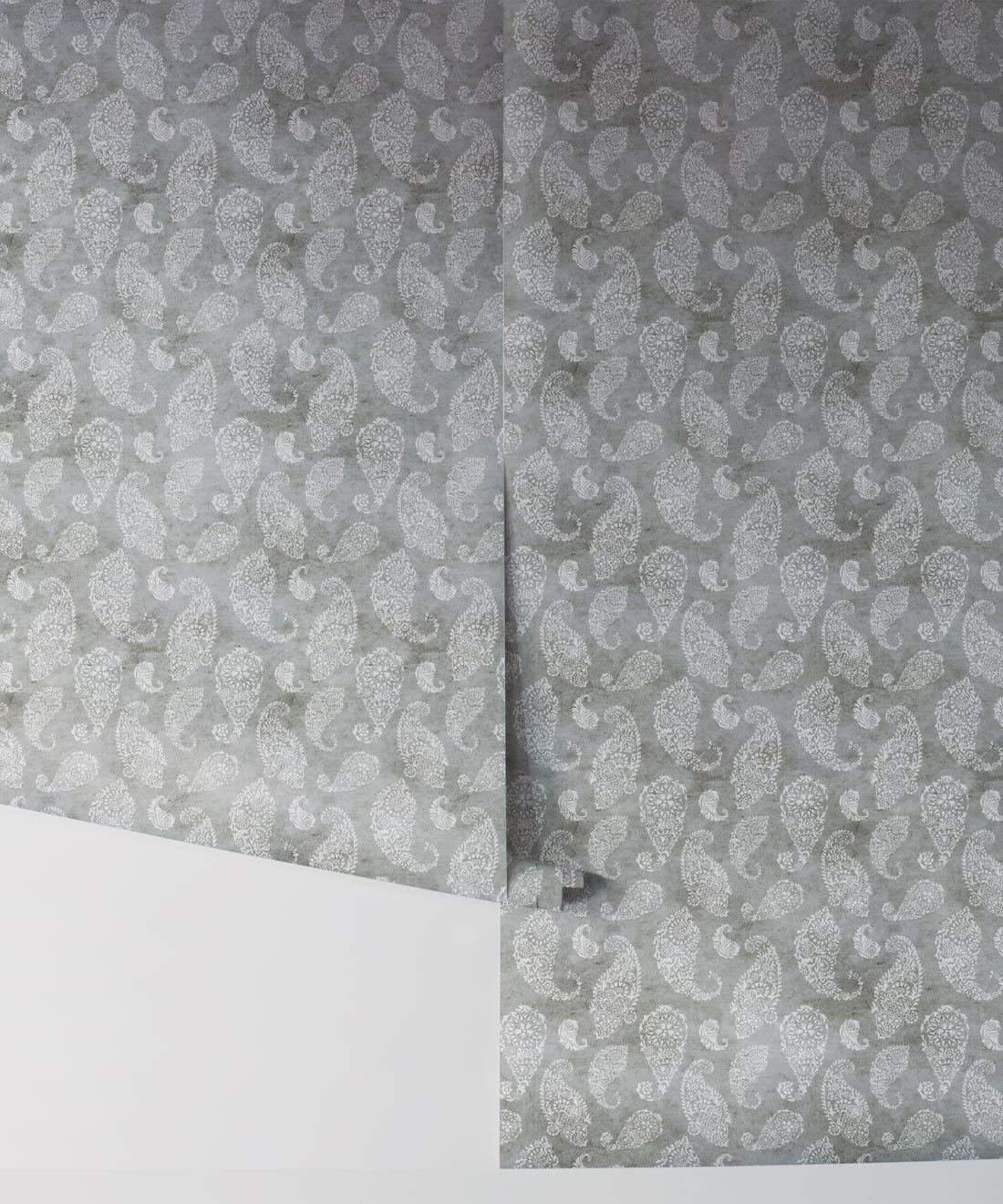Paisley Wallpaper Stone