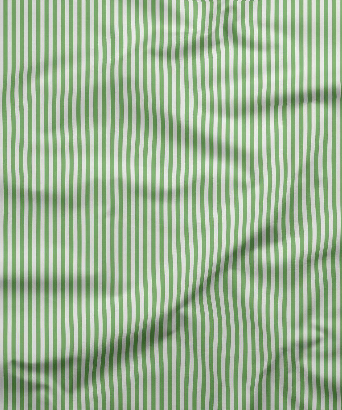 Candy Stripe Green Fabric