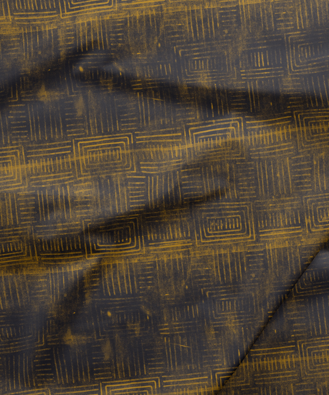 Layered Boho Fabric
