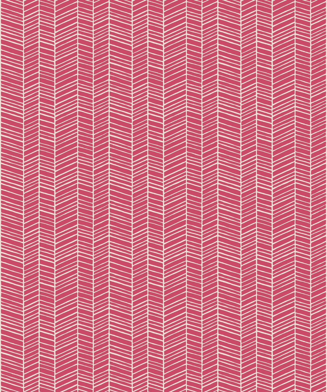 Herringbone Wallpaper Pink Quince