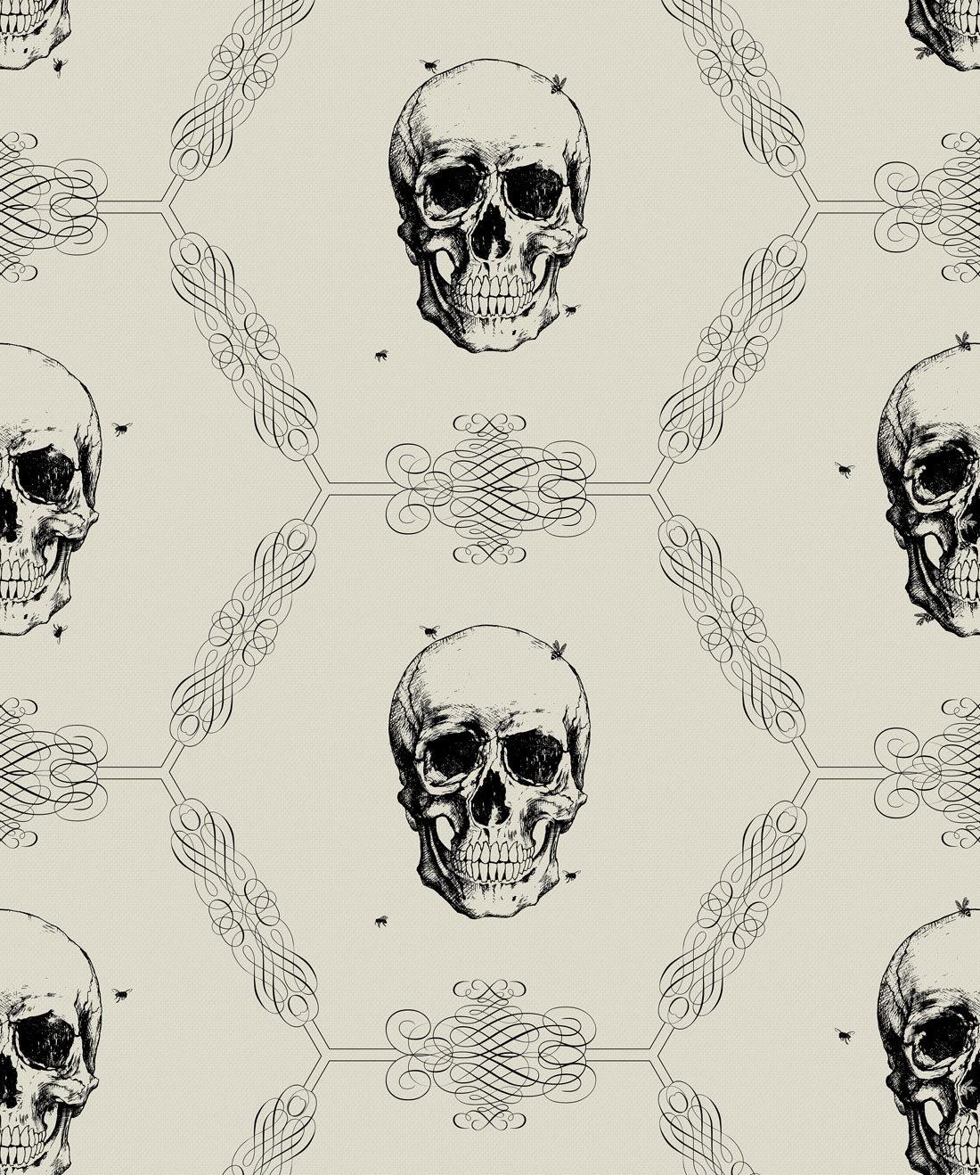 Skull and Bee Bone