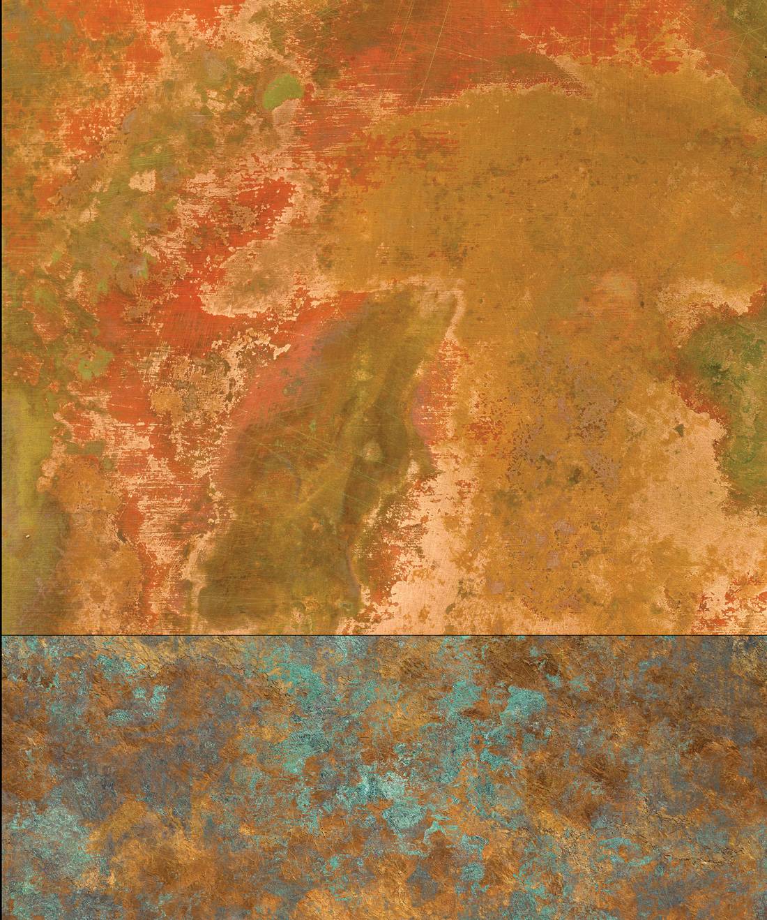 Bronze & Copper Wallpaper