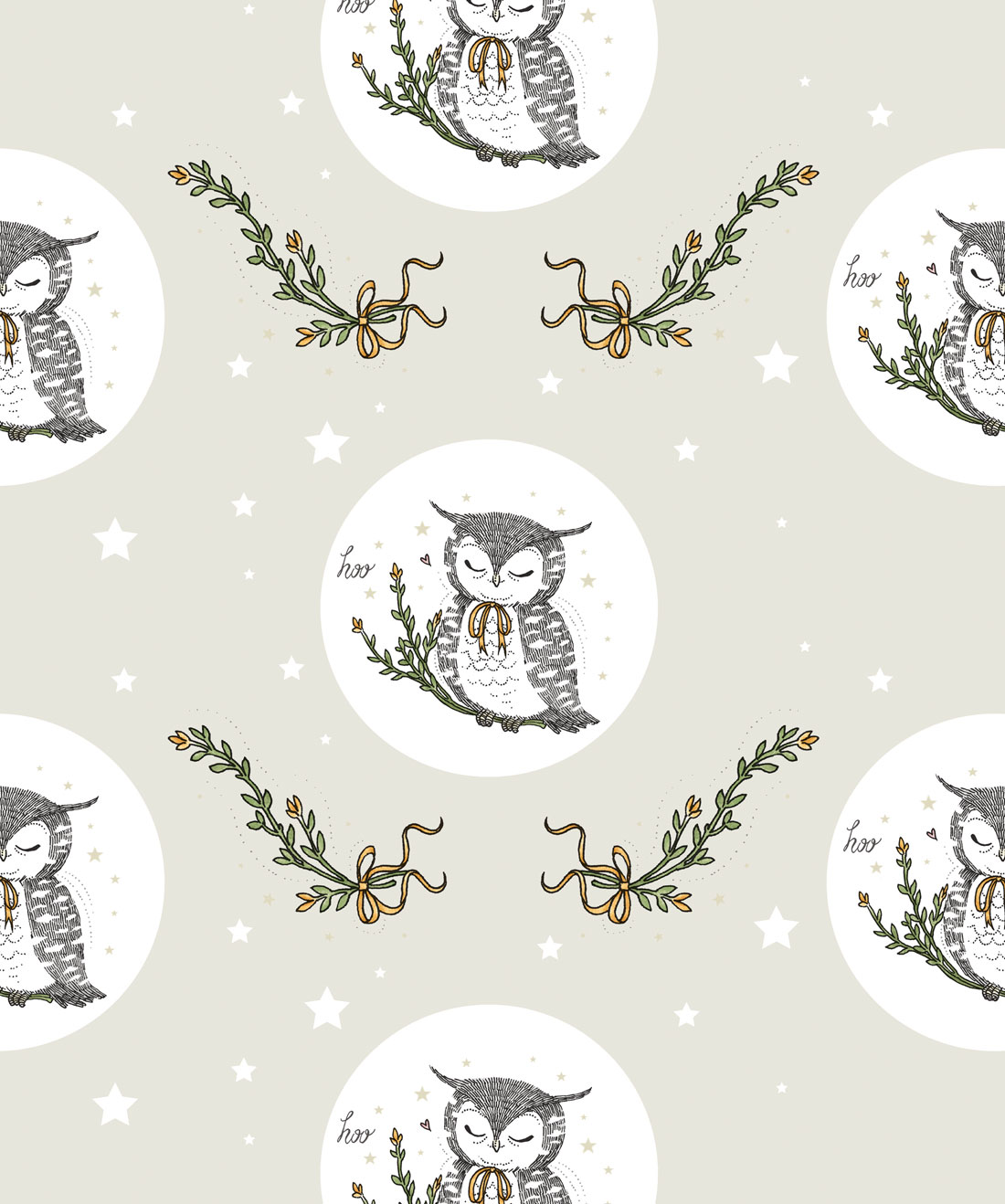 Owl Moon Wallpaper
