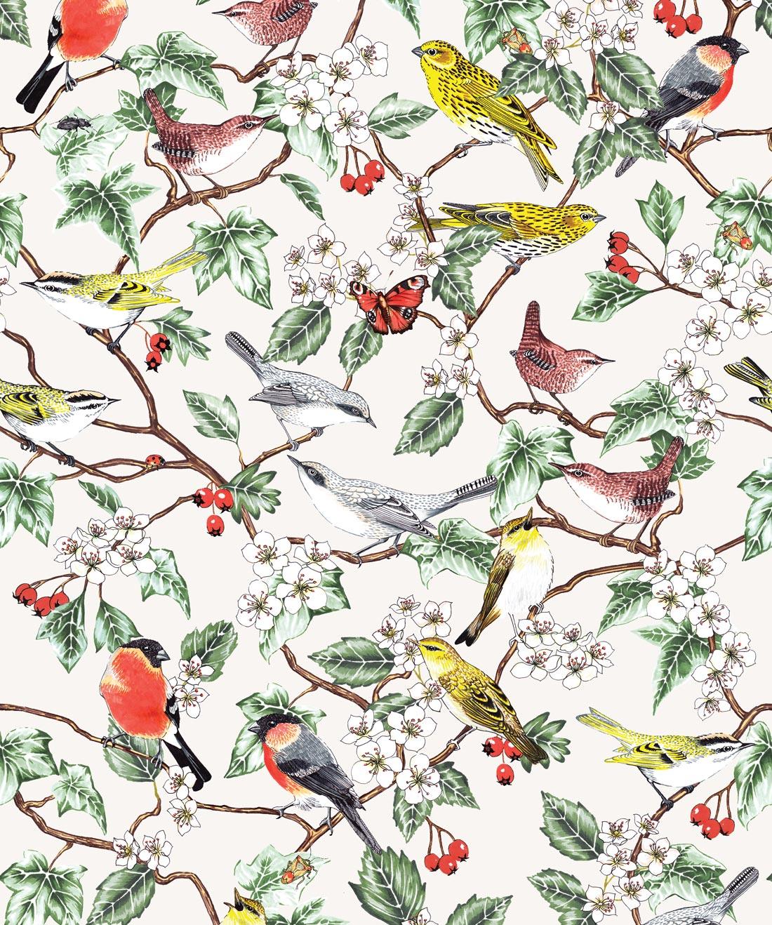 Hawthorn Wallpaper