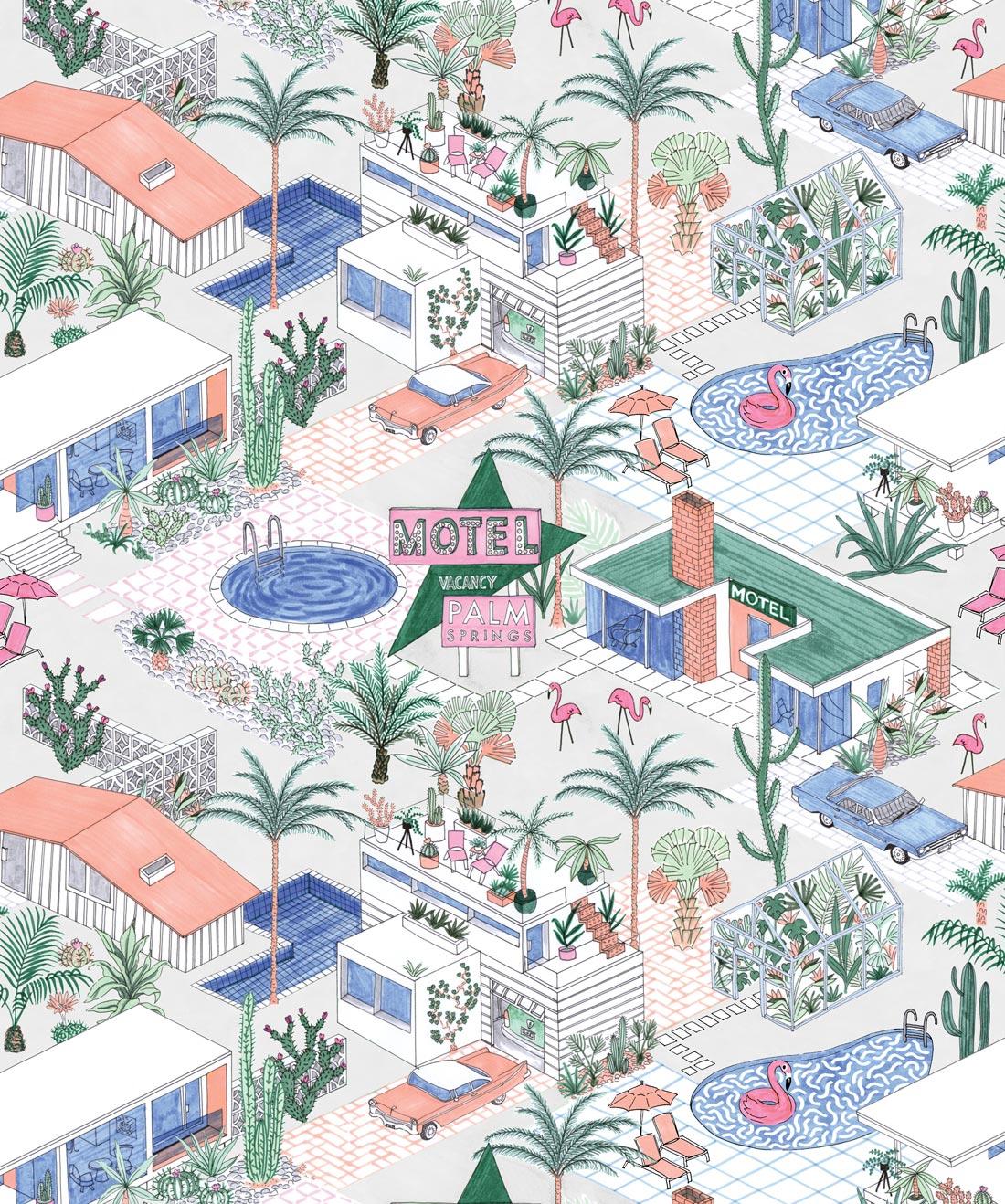 Palm Springs Wallpaper