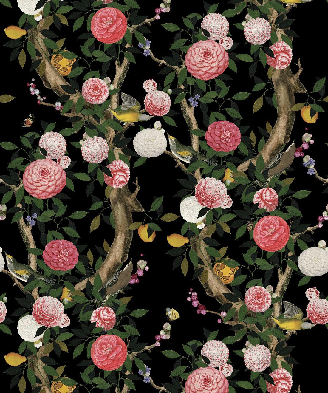Garden Bloom Black