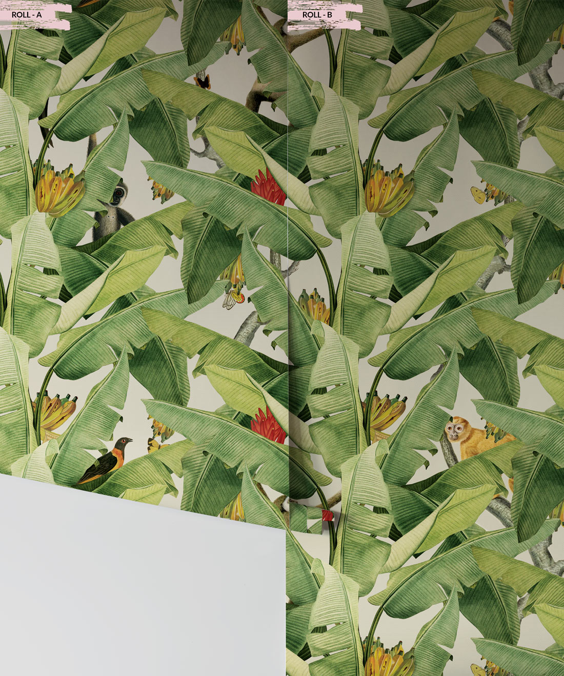 Jungle Fever Banana Leaf Wallpaper Tropical Design Milton King Eu