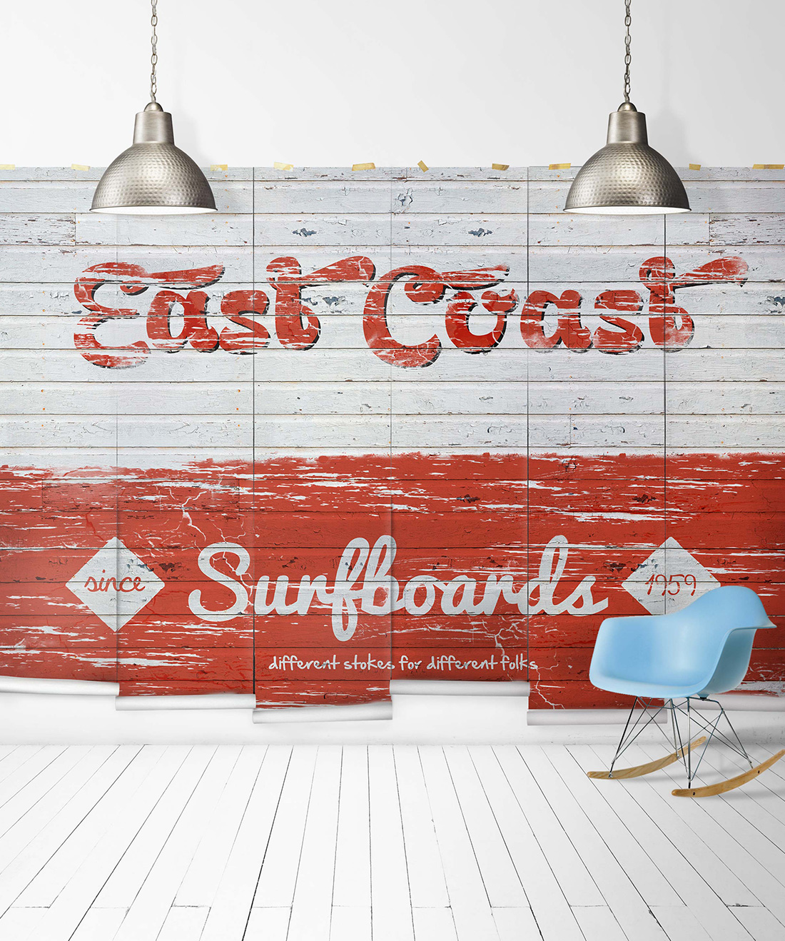 East Coast Surfboards Mural