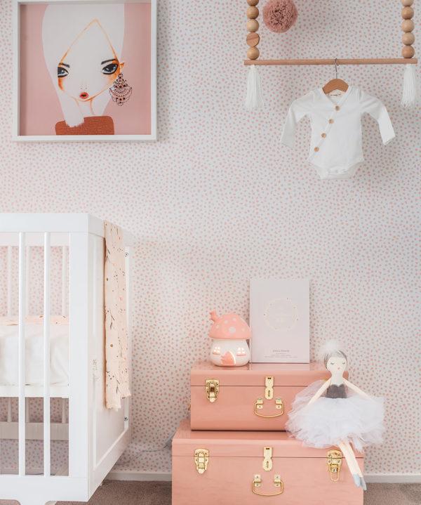 Huddy's Dots Ella Rose Nursery