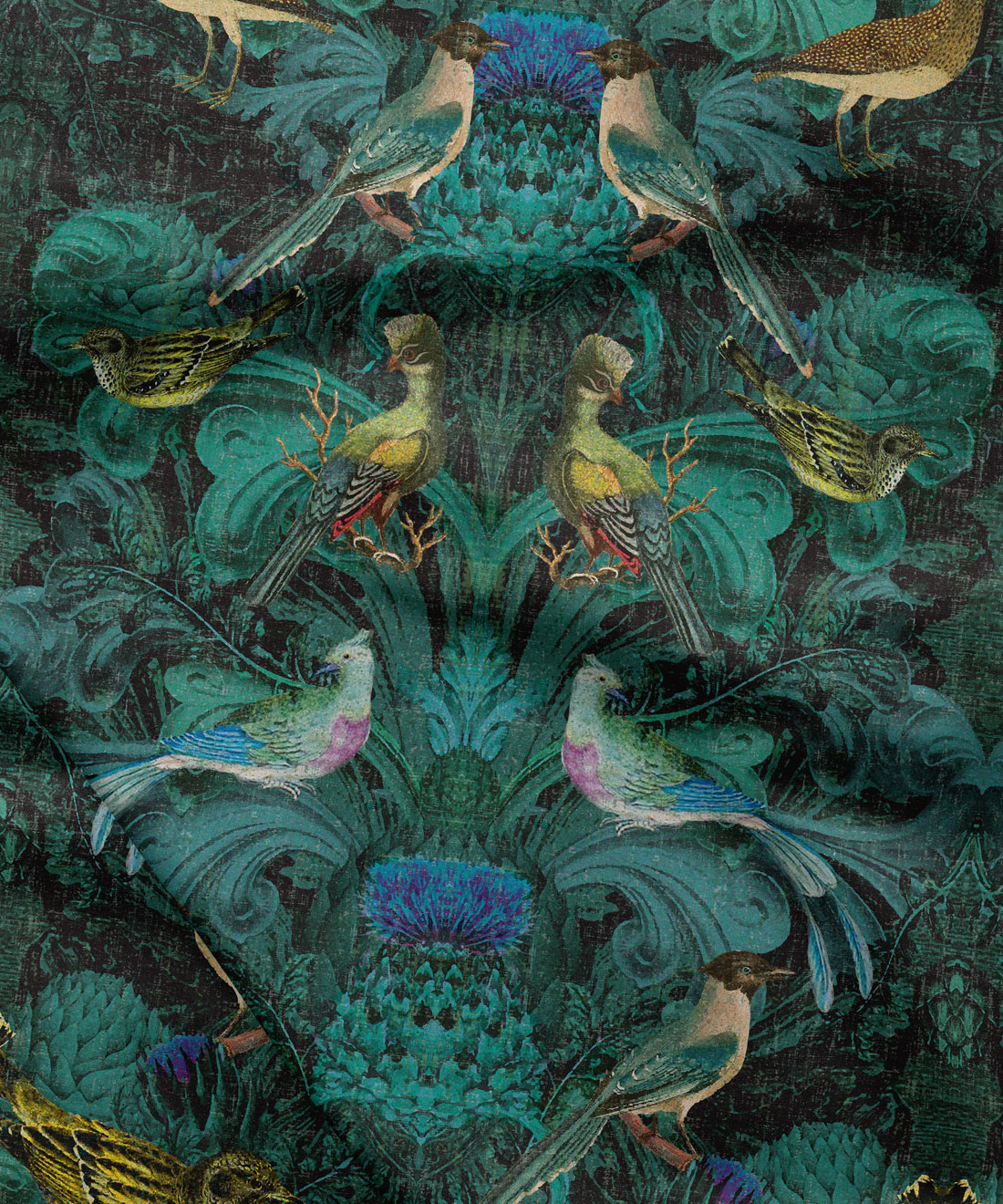 Birdlife Fabric