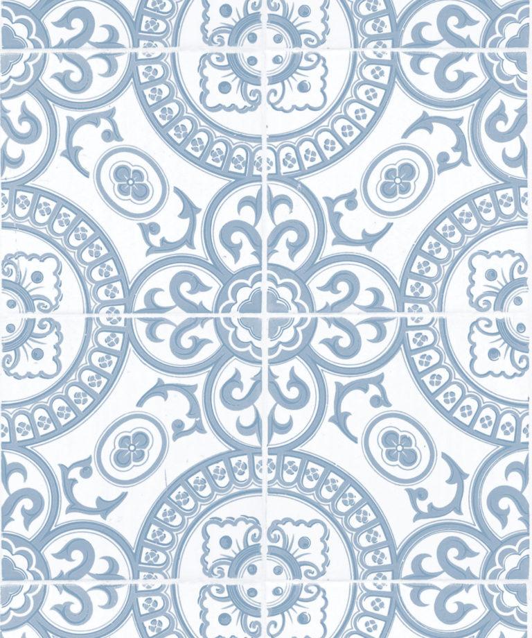 Heritage Tile Pale Blue