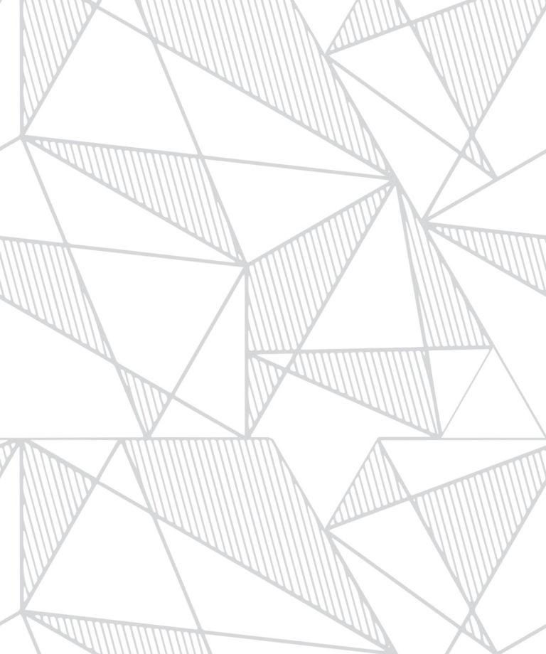 Fracture Grey - Unusual Geometric Wallpaper