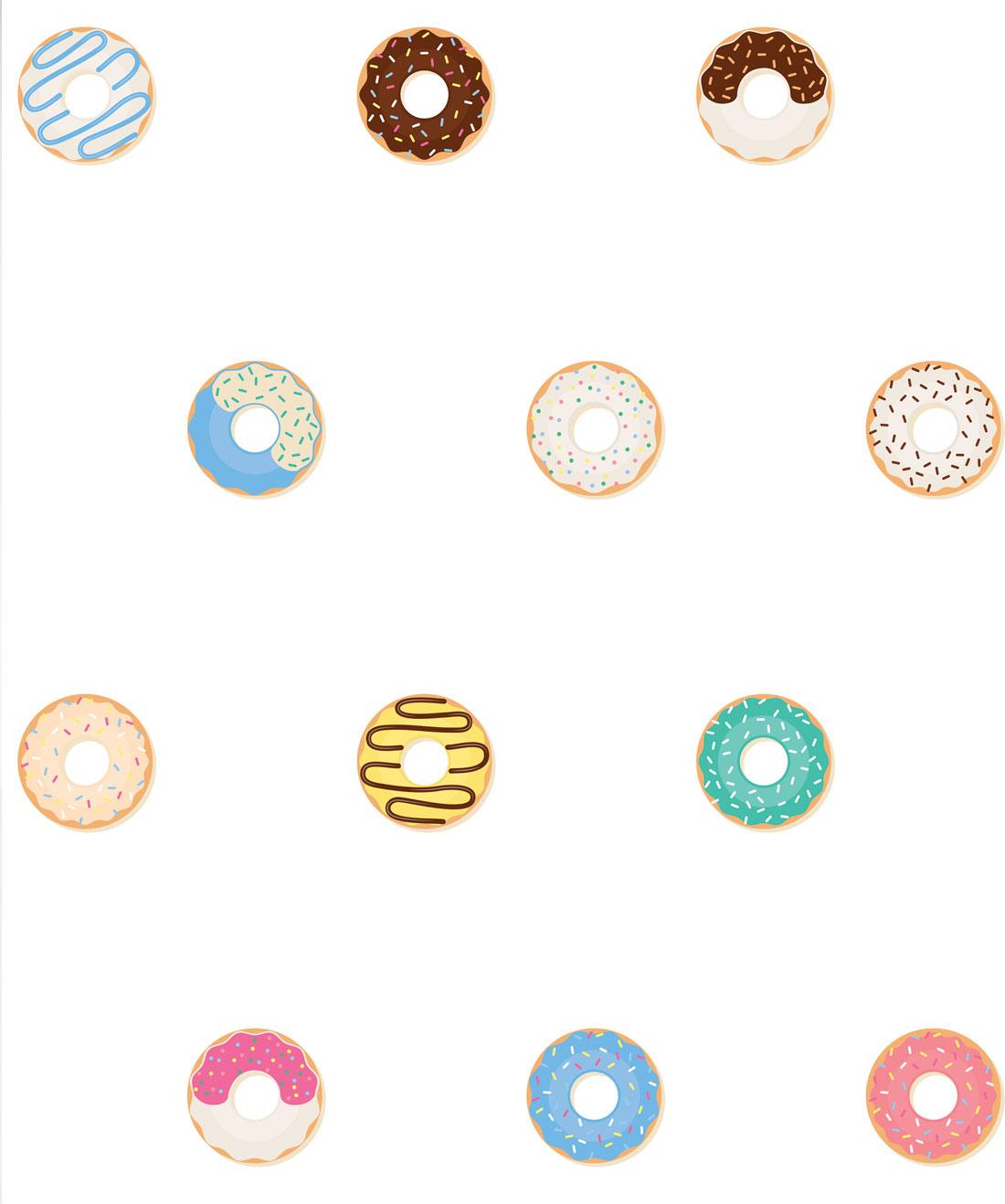 Doughnuts Wallpaper