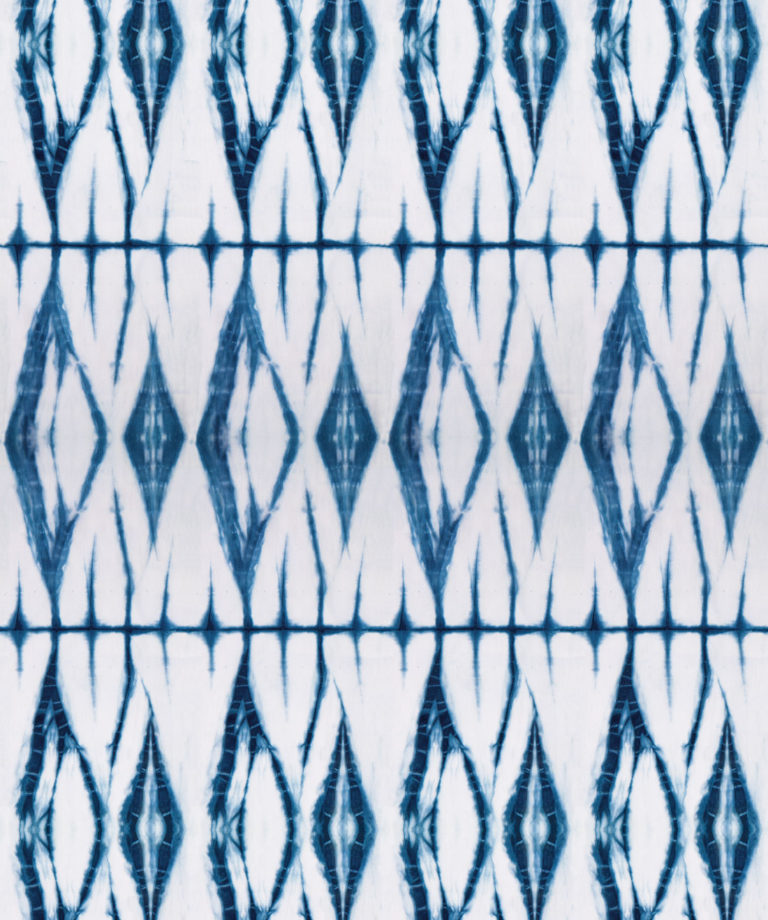 Shibori Diamonds Indigo