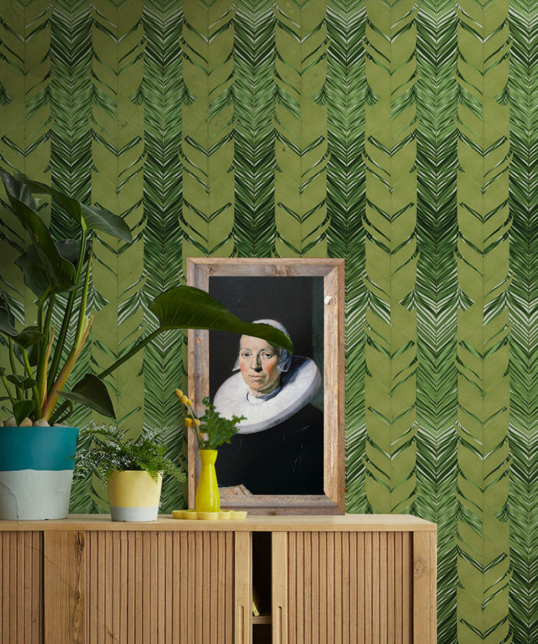 botanic wallpaper designs - Jungle Weave