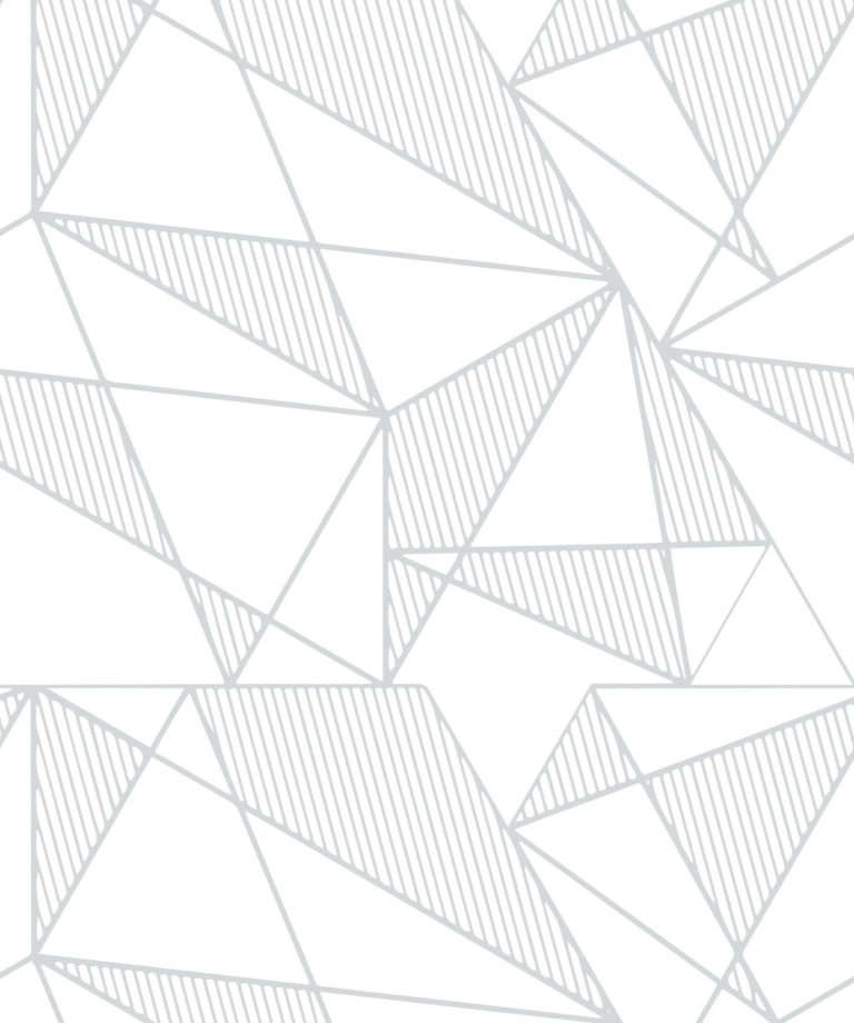 Fracture Grey - Unusual Geometric Wallpaper