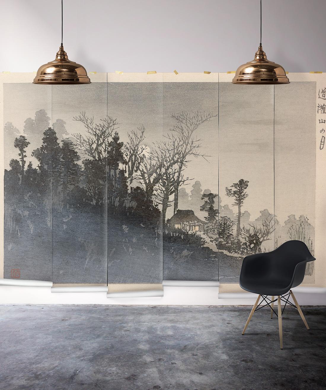 Mt Tsukuba Mist Mural