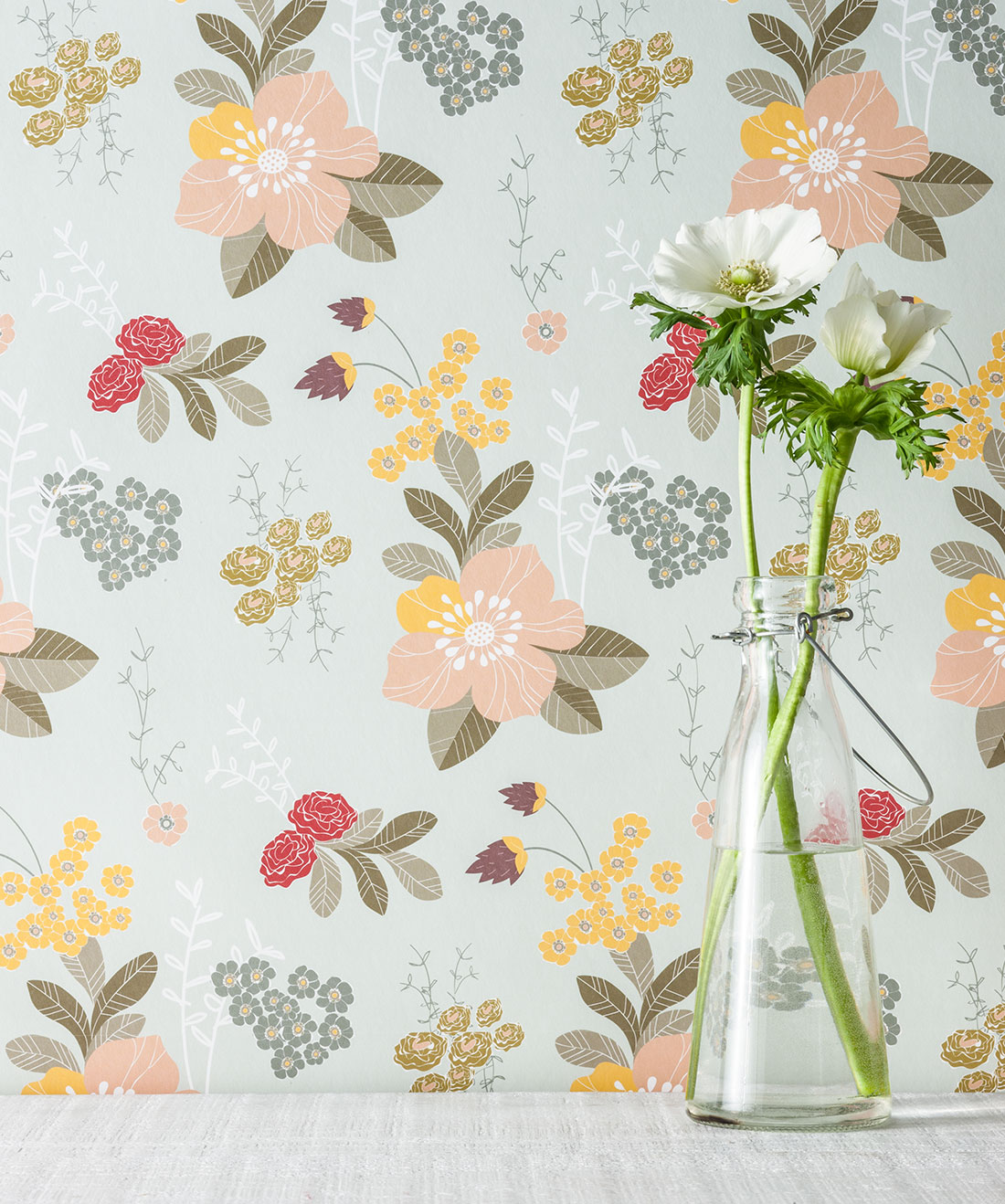 Flower Garden Wallpaper, Love Mae