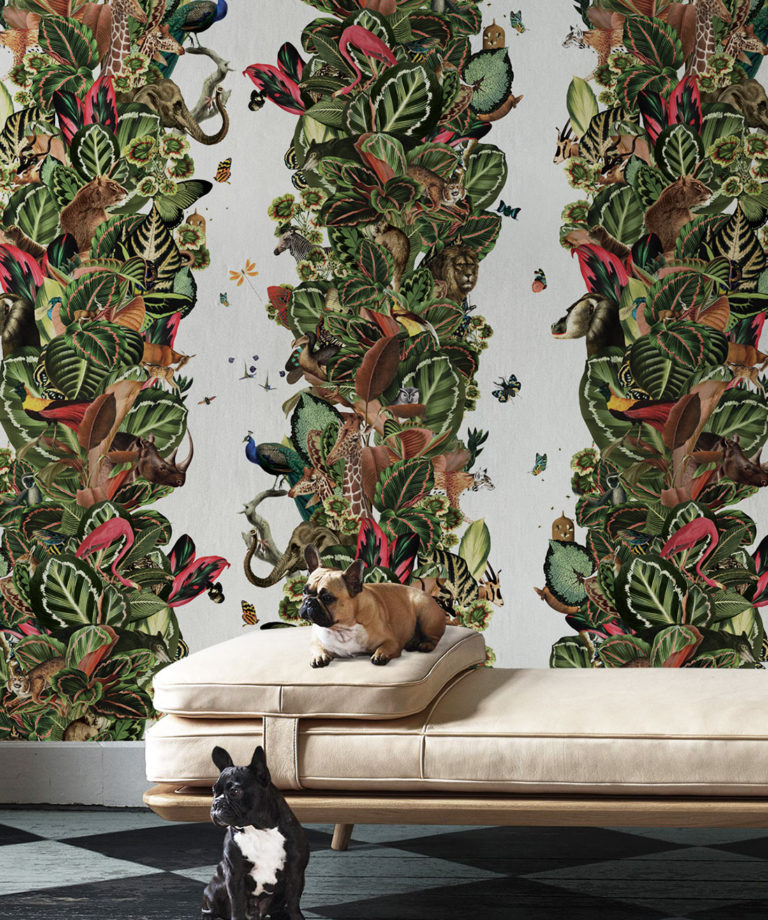 Viva Tropicana, Tropical Wallpaper Cream