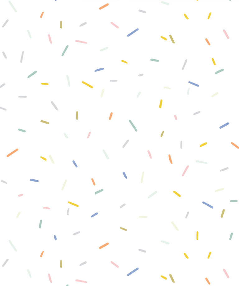 White Confetti Wallpaper