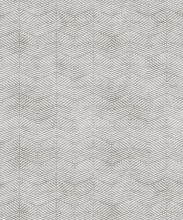 Beige Herringbone Wallpaper