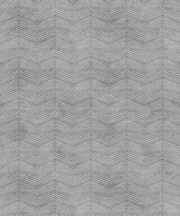 Stone Herringbone Wallpaper