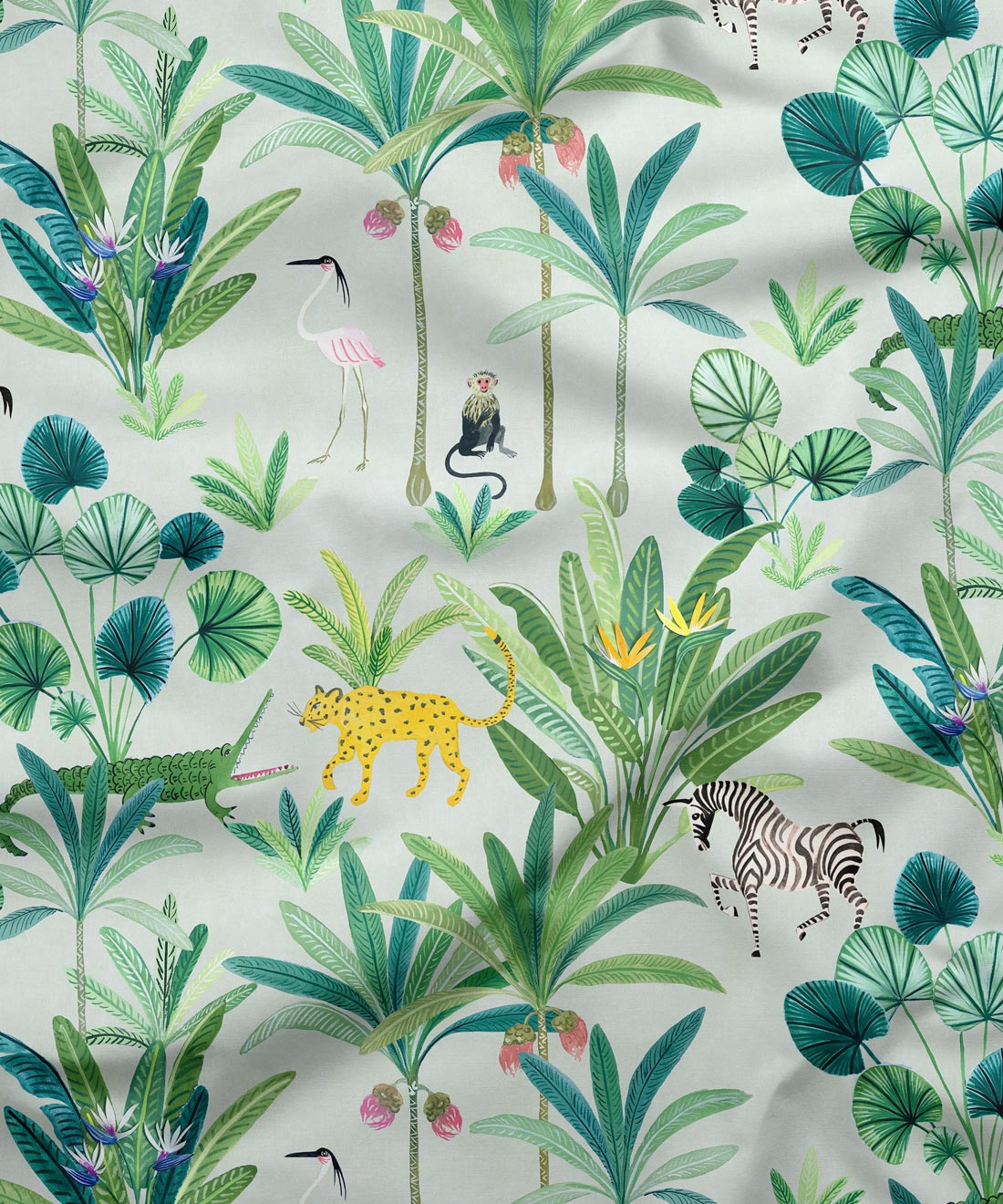 Animal Kingdom Fabric
