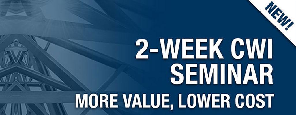 CWI 2-Week In-Person Seminar