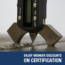 Enjoy Member Discounts on Certification