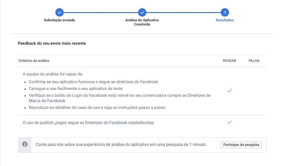 mLabs - aplicativo homologado pelo Facebook