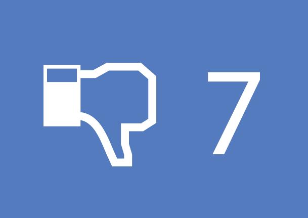 Facebook erros