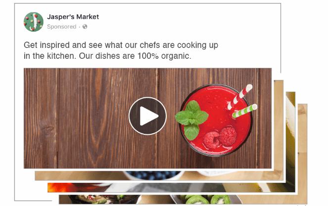 Guia anúncios - slideshow no Facebook
