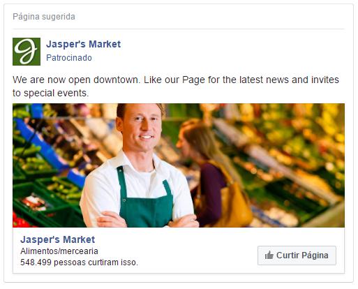 campanha de likes - facebook ads