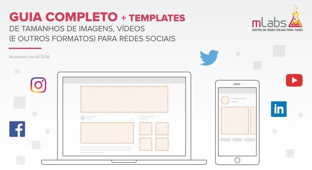 tamanhos de imagens para facebook e outras redes sociais