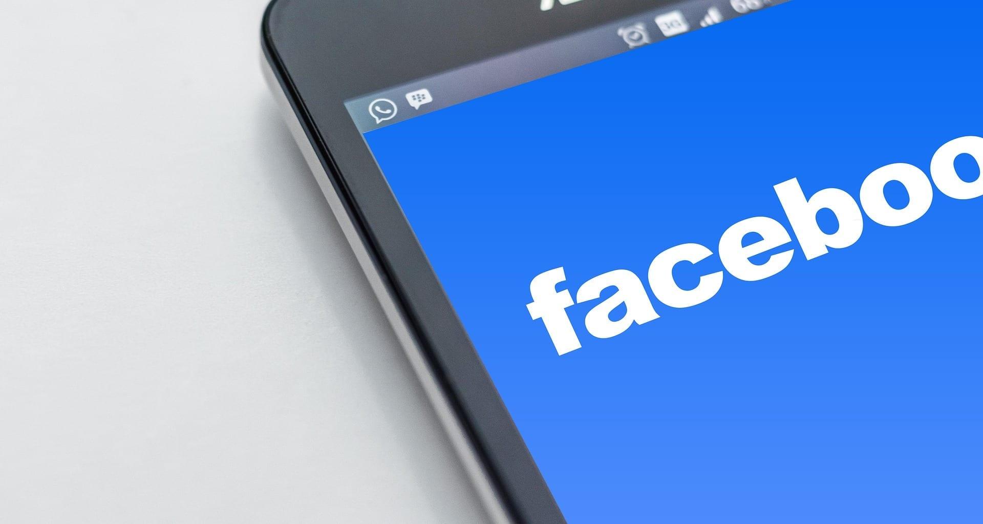 principais redes sociais - facebook
