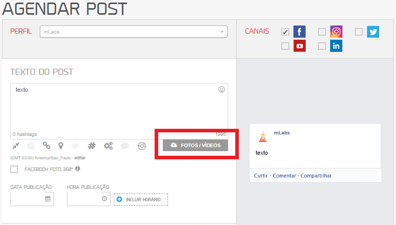 Como programar post no Facebook de maneira eficaz?