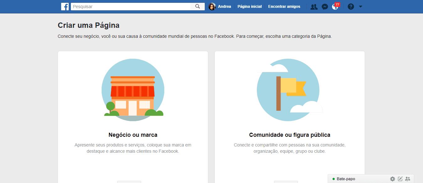 como-criar-uma-pagina-no-facebook-passo-2
