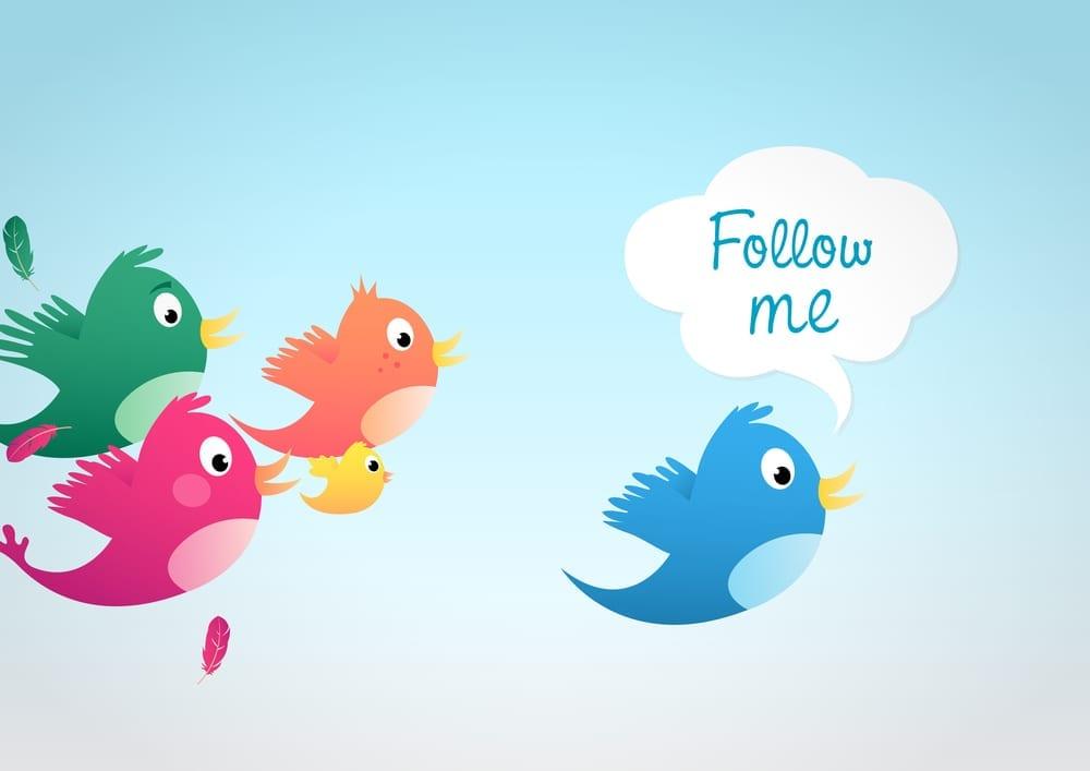 o que é o twitter - seguidores