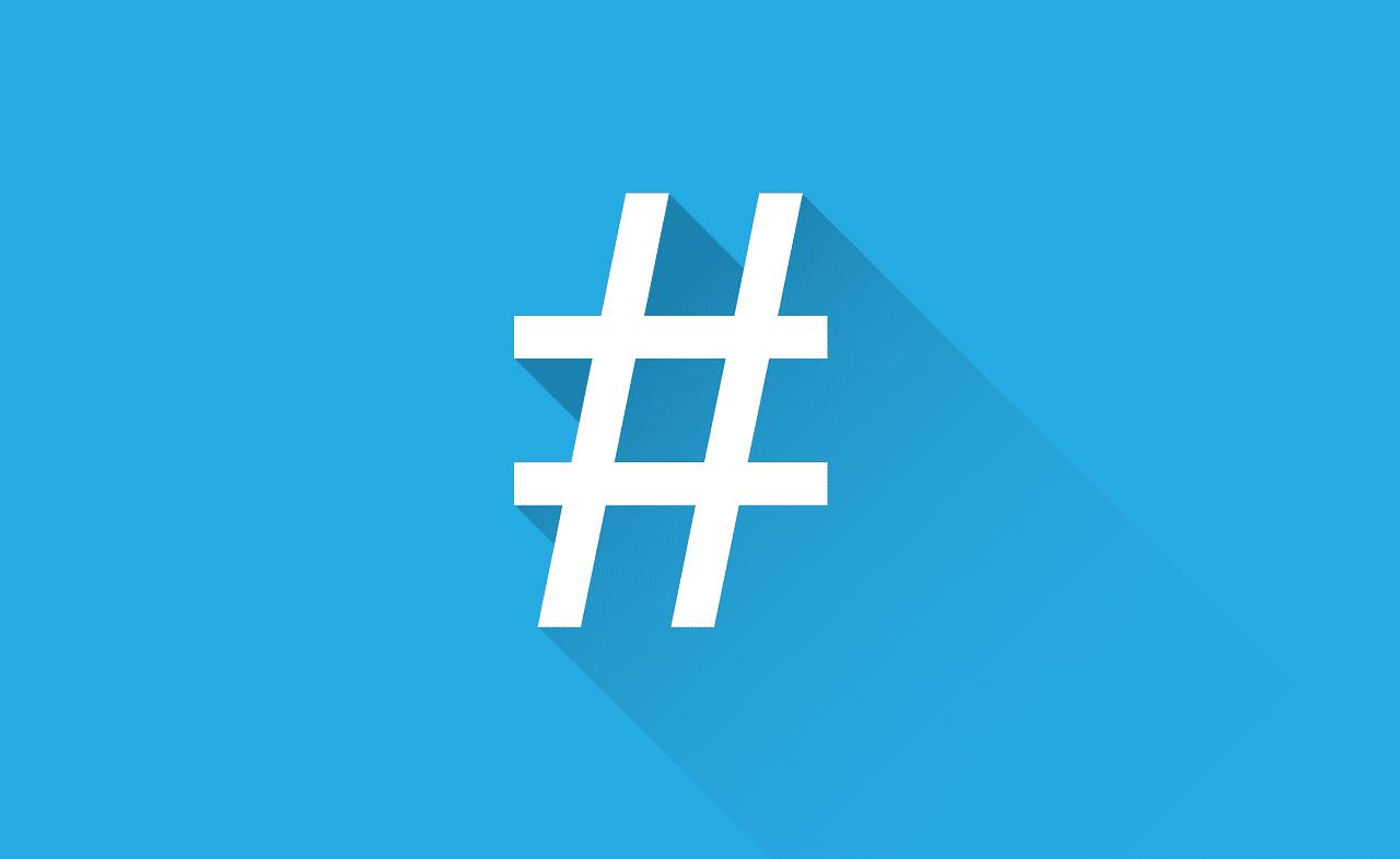 o que é twitter - hashtags