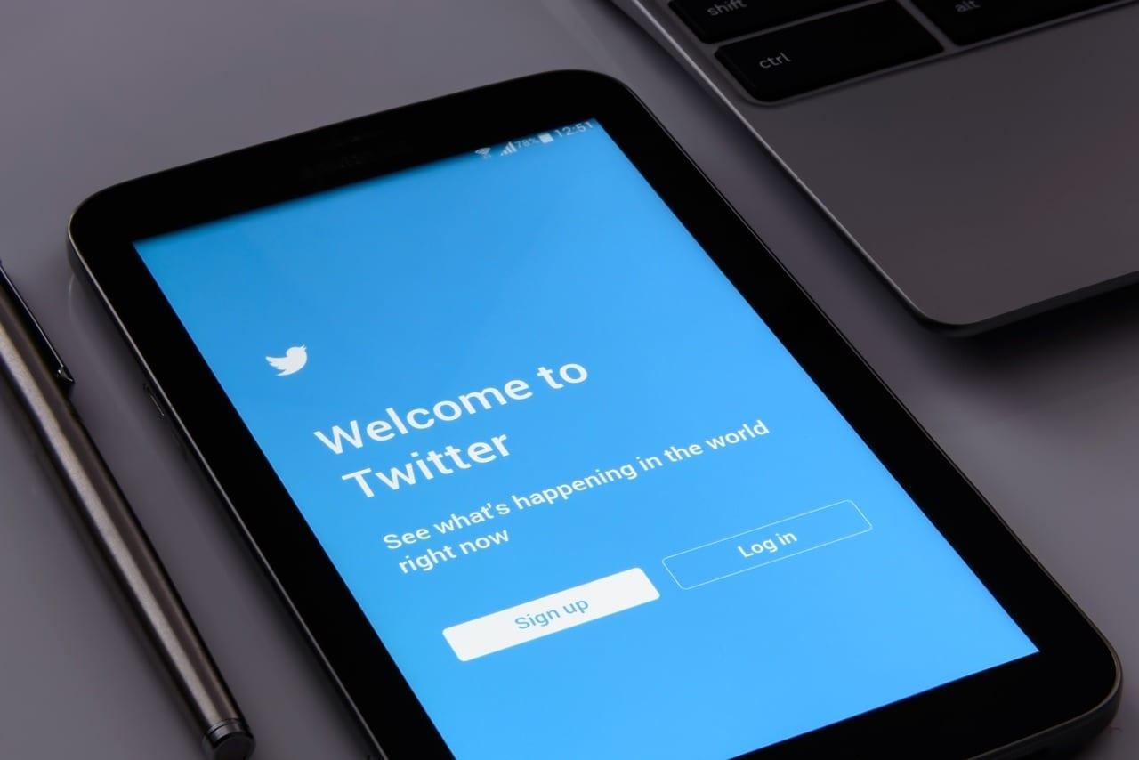 o que é twitter - tela app