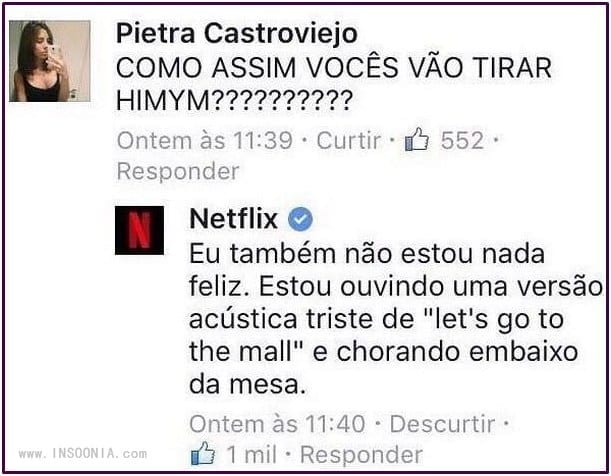 marketing no twitter - netflix