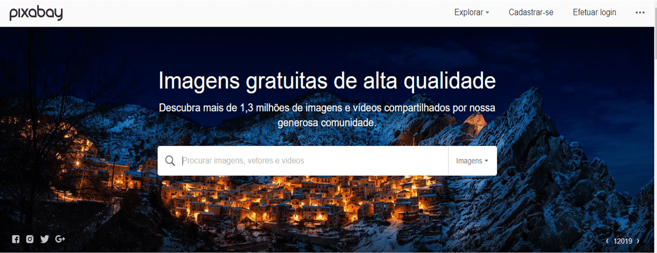 Melhores Bancos de Imagens Gratuitos - pixabay