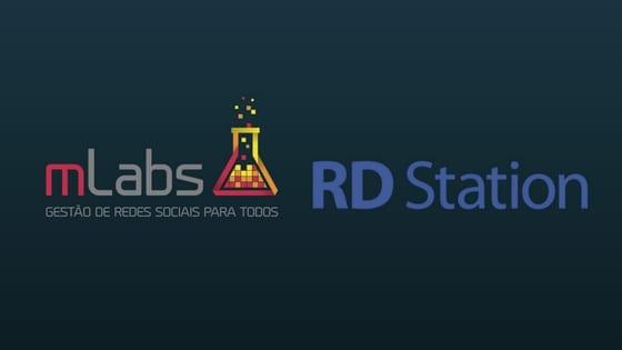 imagem logos mlabs e rd station - integração