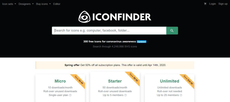 App para criar imagens para Instagram: imagem da página do Inconfinder