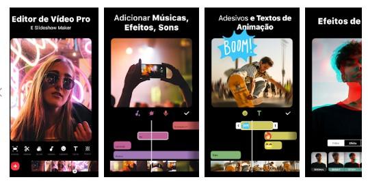 App para criar imagens para Instagram: imagem do aplicativo Inshot na Play Store