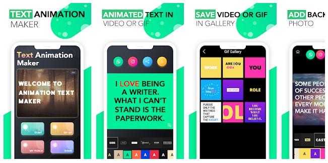 App para criar imagens para Instagram: imagem do aplicativo Legend na Play Store