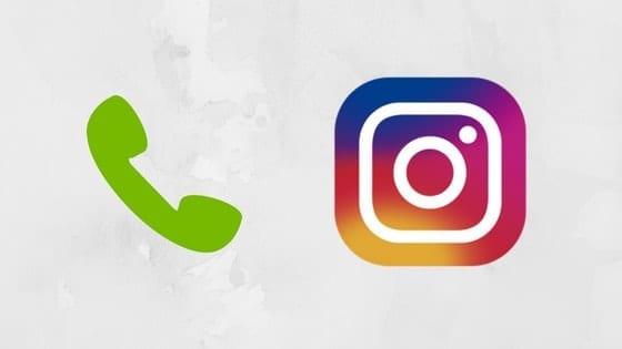 chamada vídeo instagram