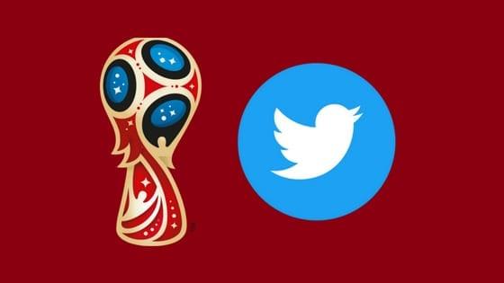 copa 2018 no twitter - logos