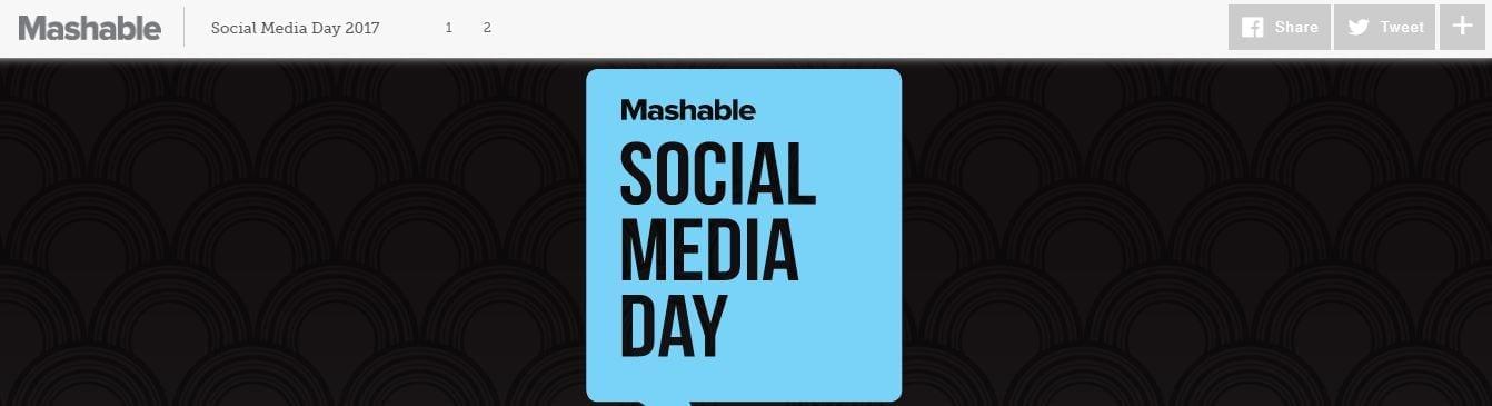 social media day mashable